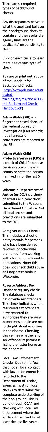 records background checks wisconsin bureau of investigation